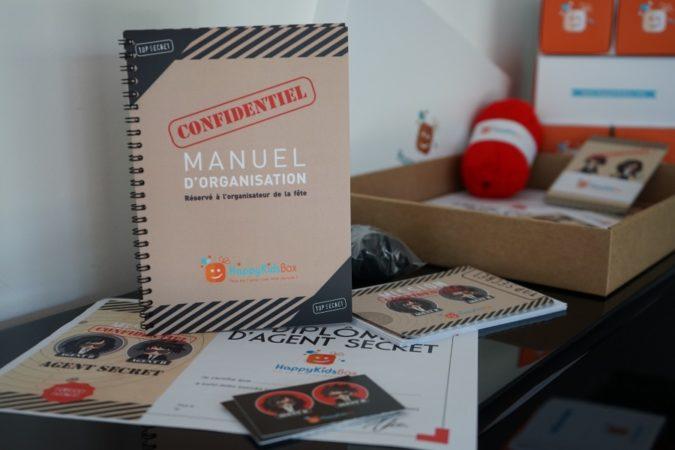Notre Best Seller : La Box Agent Secret
