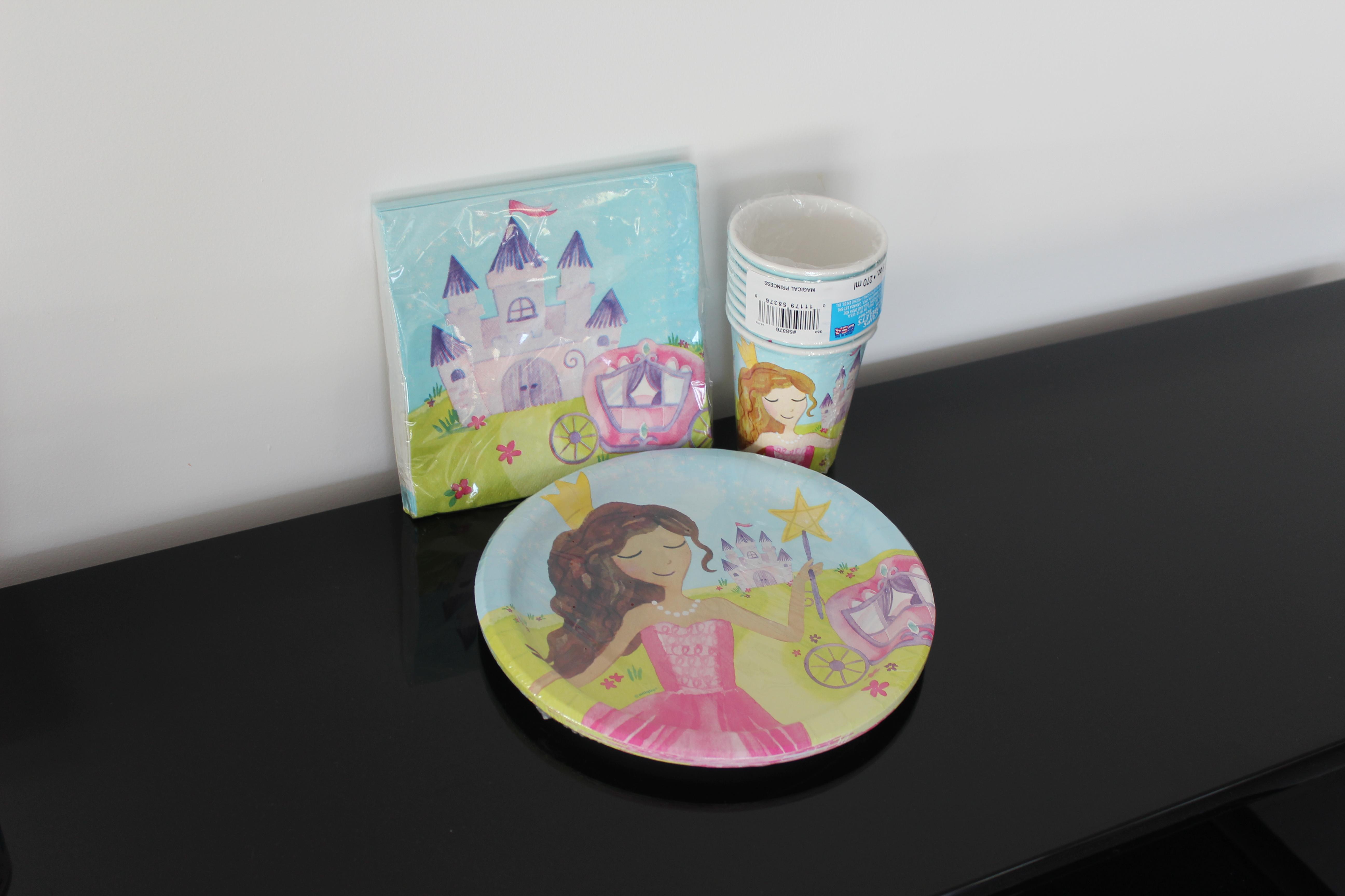 Set De Vaisselle Princesses
