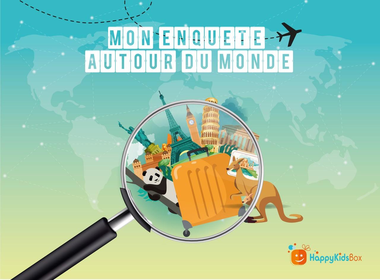 """Lancement De """"Mon Enquête Autour Du Monde"""""""