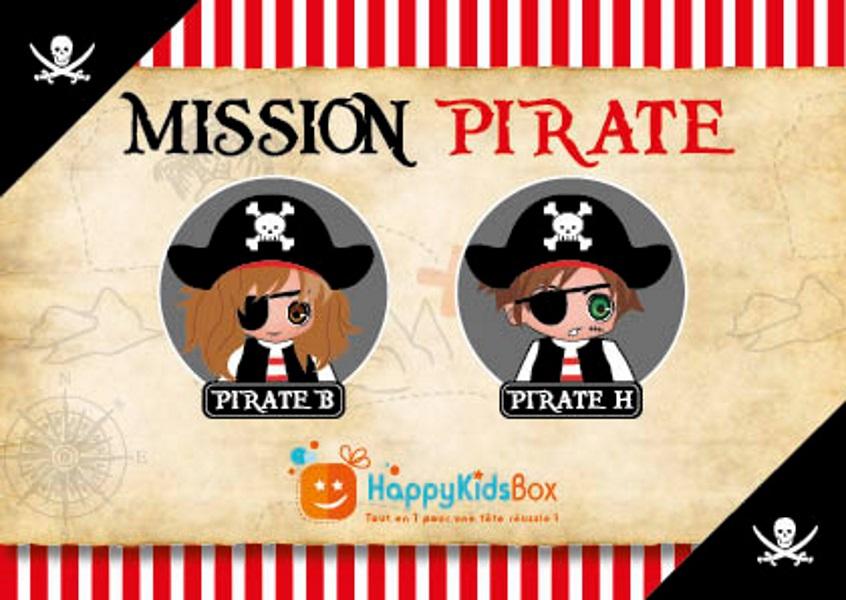 Box Anniversaire Thème Pirate